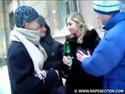 Пьяную жену ебут в очко